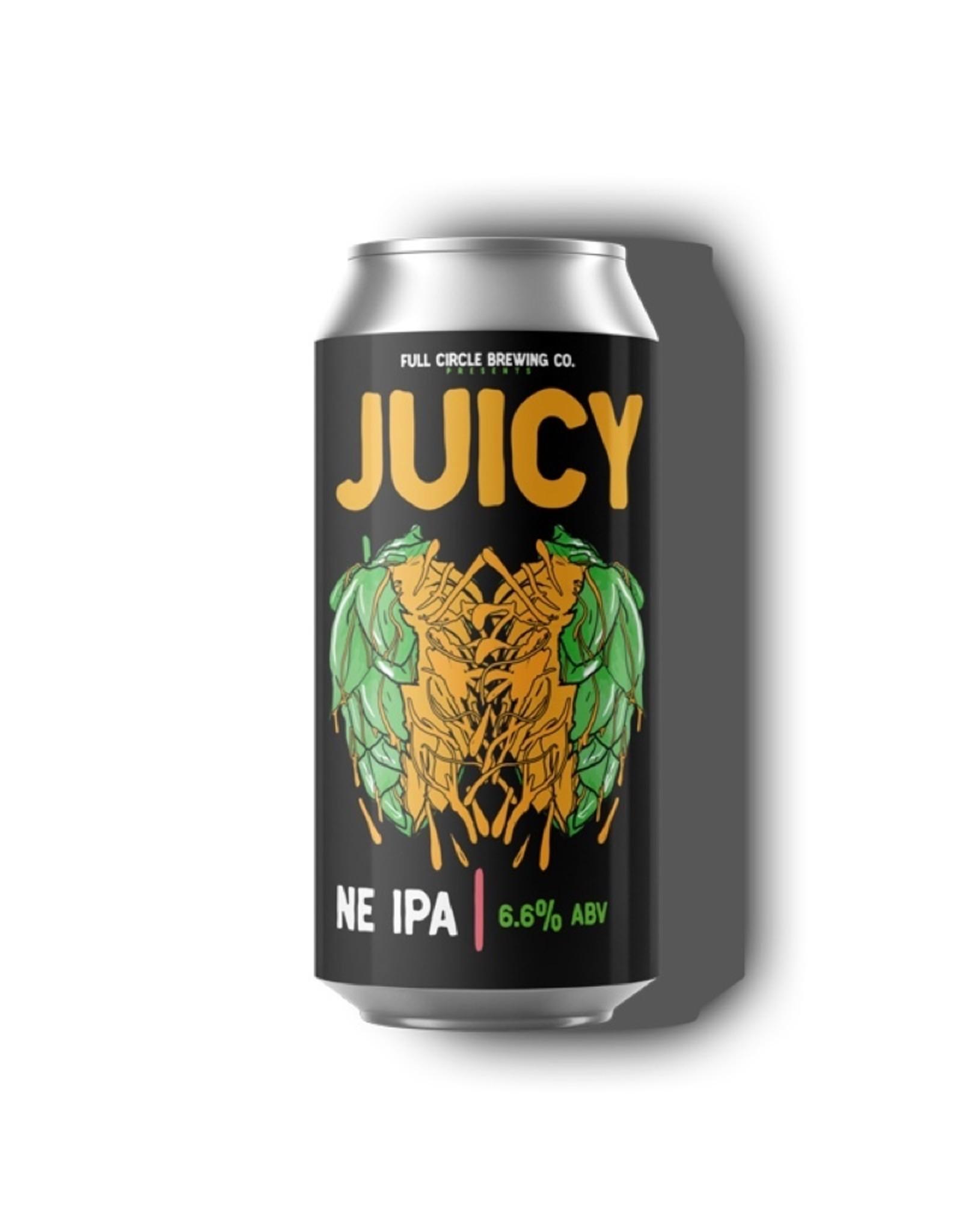 Full Circle Brewing Juicy NE IPA