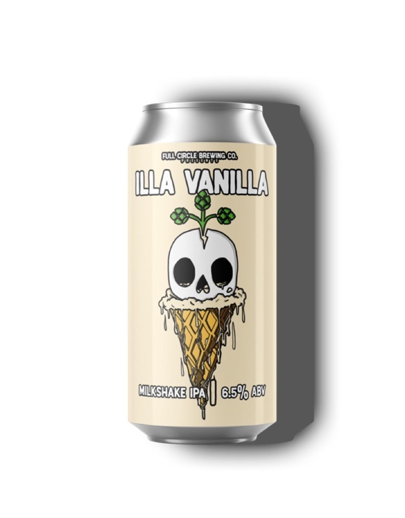 Full Circle Brewing Illa Vanilla Milkshake IPA