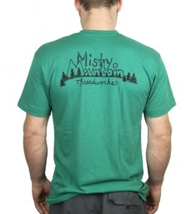 Misty Mountain Men's Throwback T-shirt