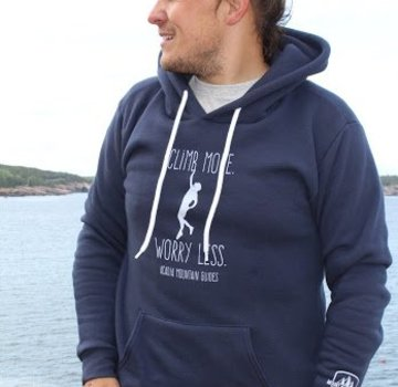 Mount Inspiration Acadia Mountain Guides Climb More, Worry Less Fleece Pullover