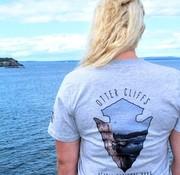 Mount Inspiration Arrowhead Scenic T-Shirt: Otter Cliffs
