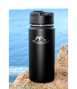 Acadia Mountain Guides Wide Mouth Alpenglow Adventure Sports Water Bottle with Flip Lid