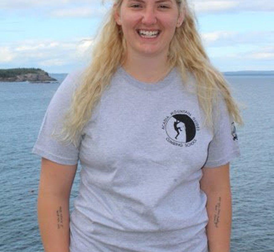 Arrowhead Scenic T-Shirt: Otter Cliffs Aluminum