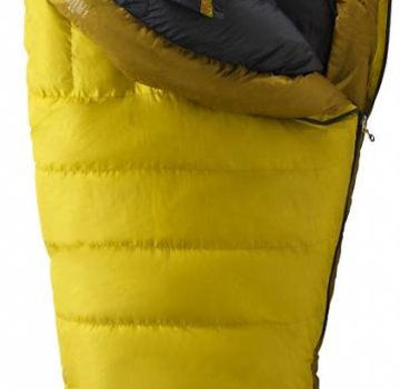 Marmot Col -20 Sleeping Bag Yellow Vapor/Green Wheat