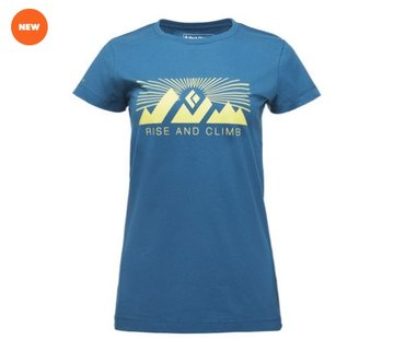 Black Diamond Women's Rise and Climb Tee