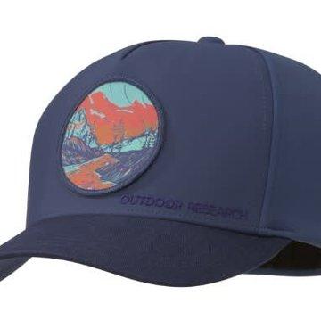 Outdoor Research Alpenglow Winter Cap- Dusk- L/XL