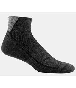 Darn Tough Men's Hiker 1/4 Sock Cushion Black Medium
