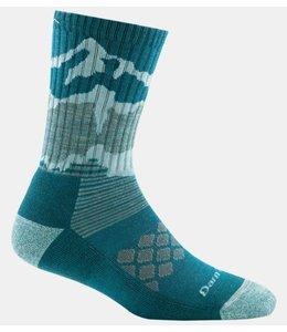 Darn Tough Womens Three Peaks Micro Crew Light Cushion Sock Teal