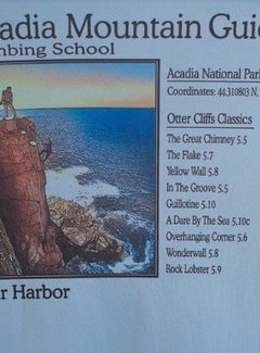 American Backcountry Acadia National Park Otter Cliffs Solar Microfiber Short Sleeve T-Shirt