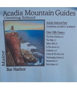 American Backcountry Acadia National Park Otter Cliffs Solar Microfiber T-Shirt