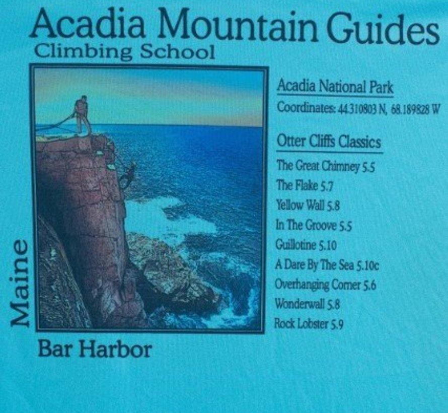 Acadia National Park Otter Cliffs Solar Microfiber Short Sleeve T-Shirt