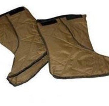 "Wiggy's 8"" Lamilite Socks Brown"
