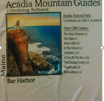 American Backcountry Acadia National Park Otter Cliffs Solar Microfiber Long Sleeve T-Shirt