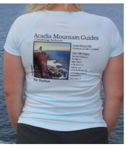 Acadia Mountain Guides Women's Logo Short Sleeve Shirt