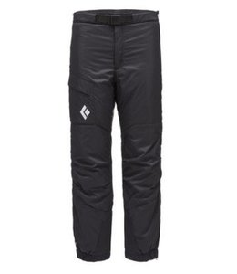 Black Diamond Men's Stance Belay Insulated Pants- XL Black