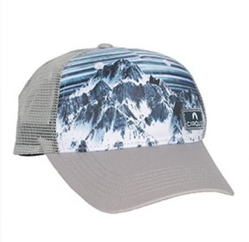 Locale Outdoors Cirque Of the Towers Trucker Hat Blue/White