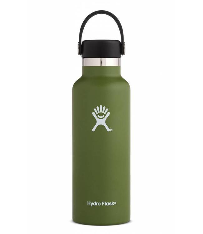 Hydro Flask 18 oz Standard Mouth Water Bottle w/ Flex Cap