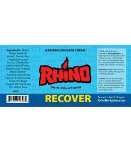 Rhino Skin Solutions Recover Warming Massage Cream