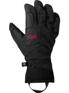 Outdoor Research Bitter Blaze Aerogel Gloves Black/Tomato