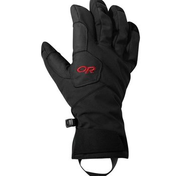 Outdoor Research Bitter Blaze Aerogel Gloves Black/Tomato