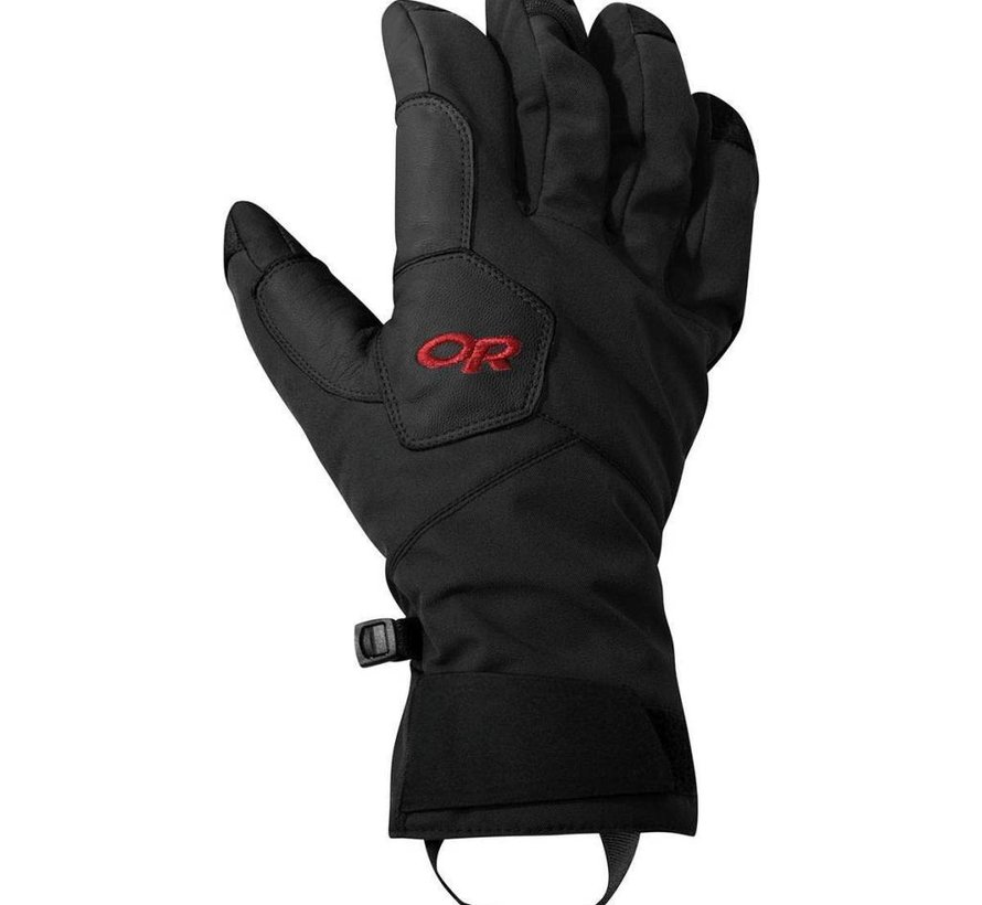 Bitter Blaze Aerogel Gloves Black/Tomato
