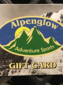 Alpenglow Adventure Sports Gift Card