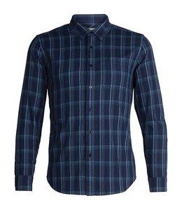 Icebreaker Men's Compass Flannel Long Sleeve Shirt