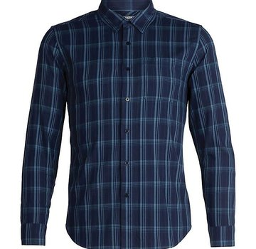 Icebreaker Men's Compass Flannel Long Sleeve Shirt