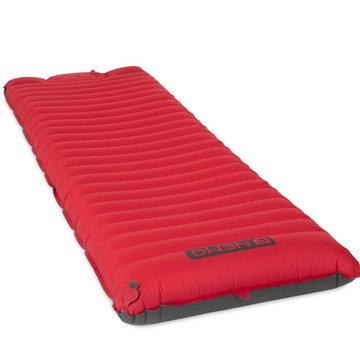 Nemo Cosmo 3D Insulated Sleeping Pad + Foot Pump Red
