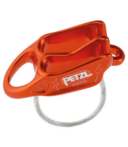 Petzl Reverso 4 Belay Device Red