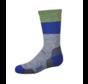 Kid's Block Stripe Extra Light Cushion Sock