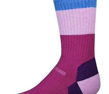 Point6 Kid's Block Stripe Extra Light Cushion Sock