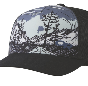 Outdoor Research Alpenglimmer Trucker Hat- Peacock