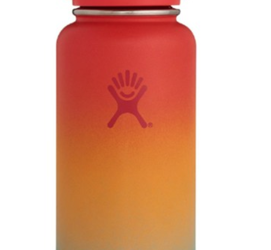Limited Edition 32 oz Wide Mouth Water Bottle w/ Flexcap