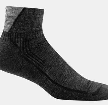 Darn Tough Men's Hiker 1/4 Cushion Sock-Black-XL