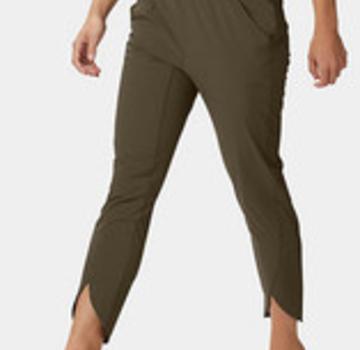 Mountain Hardwear Women's Railay Ankle Pant - Light Army