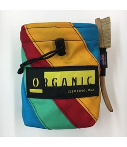 Organic Climbing Large Chalk Bag with Belt-Assorted Colors