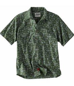 Mountain Khakis Men's Adventurist Signature Print Short Sleeve Shirt