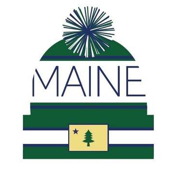 Locale Outdoors Maine Pom Beanie