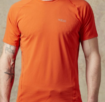 Rab Men's Force Short Sleeve Tee