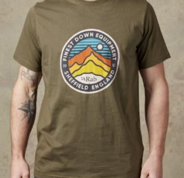 Rab Men's Stance Tee - 3 Peaks