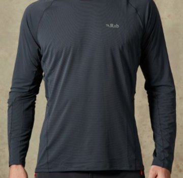 Rab Men's Force Long Sleeve Tee
