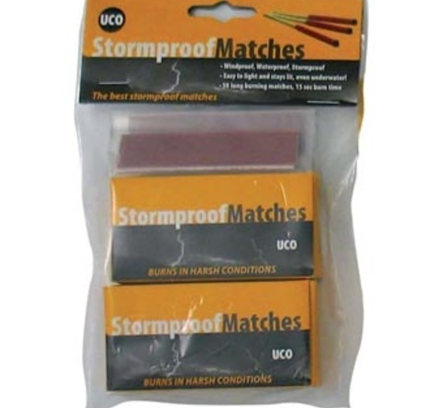 Stormproof Matches (2 boxes)