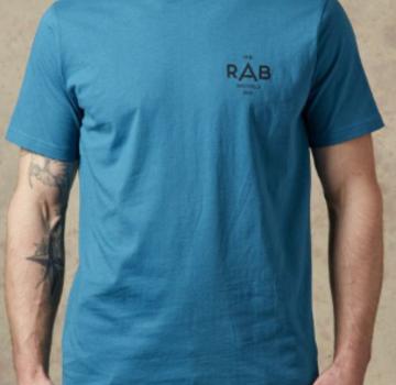 Rab Men's Stance Tee - Geo Azure