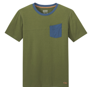 Outdoor Research Men's Axis Tee - Seaweed - L