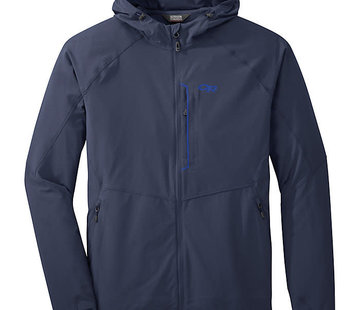 Outdoor Research Men's Ferrosi Hooded Jacket - Navel Blue -