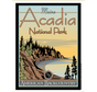 Acadia National Park Vintage Short Sleeve