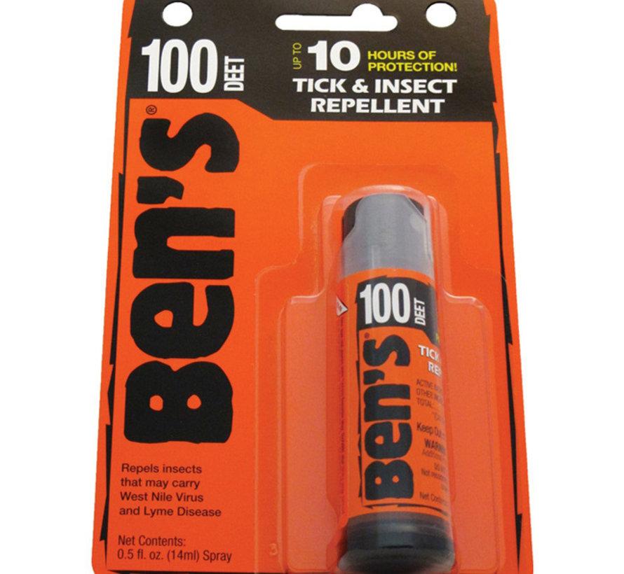Ben's 100% Max Deet 3.4oz Spray
