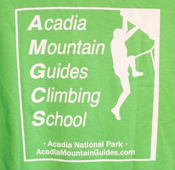 Acadia Mountain Guides Kids' Logo Short Sleeve Shirt