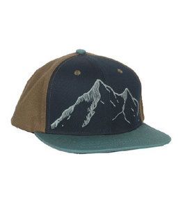 Locale Outdoors Alpenglow The Summit Flatbrim Hat